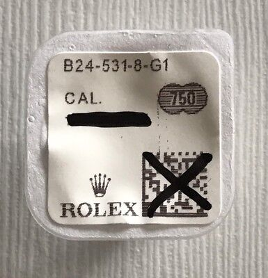 Rolex Crown Solid Gold 18kt B24-531-8-G1 Brand New 100% Genuine In Blister!