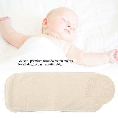 Baby Bamboo Charcoal Cotton Cloth Nappy Changing Liners Washable Diapers Insert