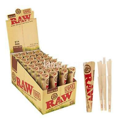 *NEW* RAW Original Classic 1(1/4)-Sized Pre-Rolled Cones Filter 24 Pack Bundle!