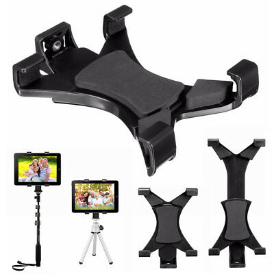 Tripod Mount Holder Bracket 1/4'' Thread Adapter For 7''~10.1'' Tablet PC iPad