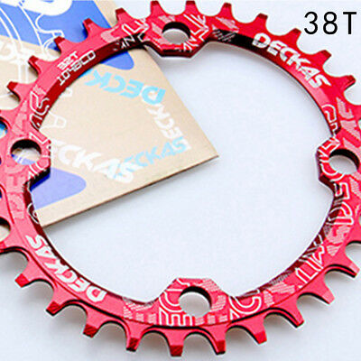 Moutian Bike Chainring Round Chain Ring Aluminum Alloy New Multicolor BCD R7K2B