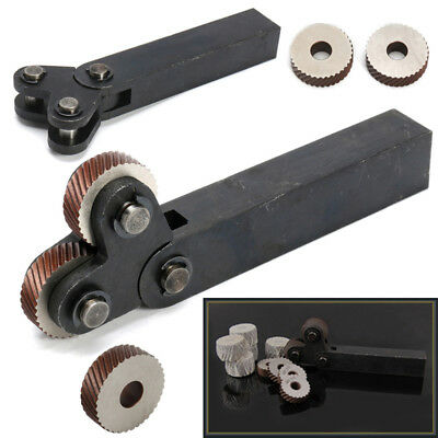 Wheel Set 0.6-3.0mm Linear Knurling Parts Knurler Pitch 0.6/0.8 Slipping Tool