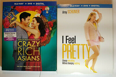 Crazy Rich Asians + Why Him? (Blu-ray+DVD+Slip Covers, Digital Removed)