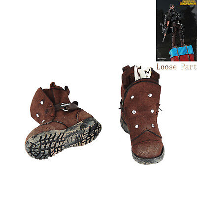 """FLAGSET FS-73012 1/6th Doomsday Survivors Boots Shoes For 12"""" Action Figure Toys"""