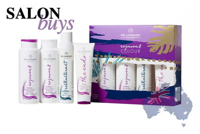De Lorenzo Rejuven8 Gift Pack - Shampoo, Conditioner, The Ends & Restructurant