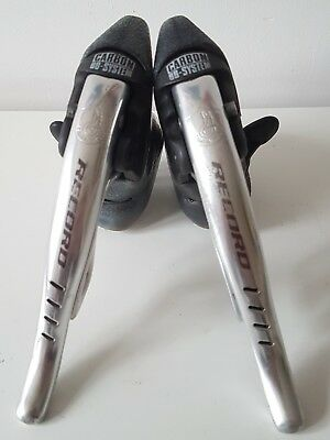 Campagnolo record Carbon BB-systems Shifting Brake Levers 3x8 Speed