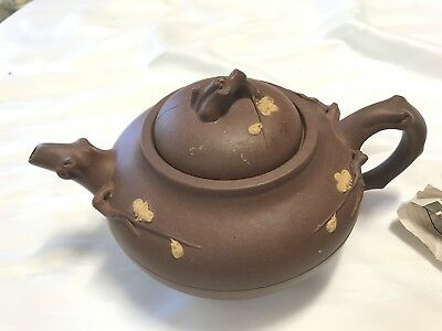 Antique Asian Teapot Both Lid And Teapot Marked