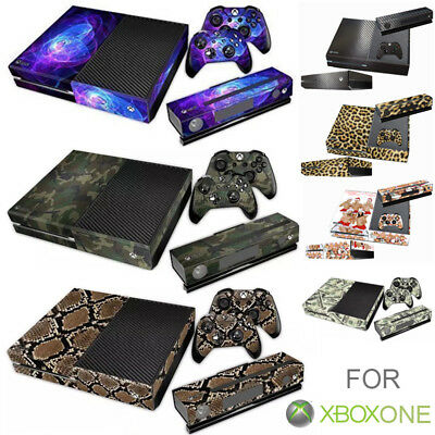 For Xbox One Console Controllers Decal Skin Stickers Protector Cover Set Camou U