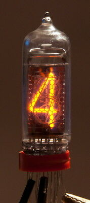 1x IN-1 - IN-28 Nixie Tube for Digital Clock NOS Tested See Variations