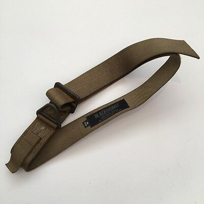 Blackhawk! CQB Tactical Riggers Belt Medium Tan Khaki Army USA made Adjustable