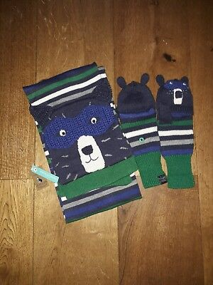 Joules Scarf And Gloves Set
