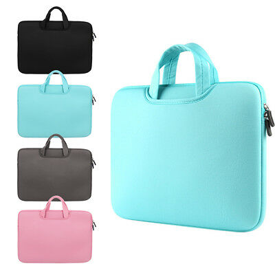 "11 13 14 15 15.6"" Laptop Bag Sleeve Case Dual Zipper Shockproof Cover New"