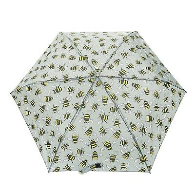 BEE print umbrella by ECO CHIC durable compact 6mth guarantee