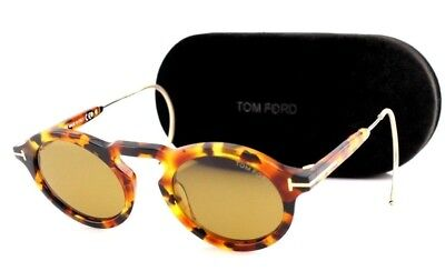 4aa5e93a514 RARE Genuine NEW TOM FORD GRANT-02 Havana Brown Sunglasses TF 632 FT 0632  55E