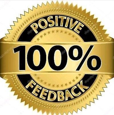 Feedback positivo 5 stelle 100℅ ISTANTANEO