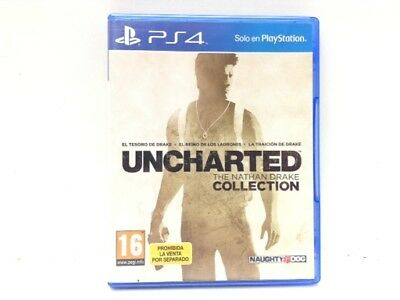 Juego Ps4 Uncharted The Nathan Drake Colection 4234039