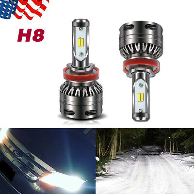 Dual Color H11 H9 H8 LED Fog Light for Acura CSX 06-2011 ILX 13-2018 Switchback