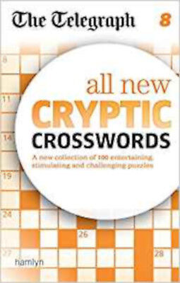 The Telegraph: All New Cryptic Crosswords 8 (The Telegraph Puzzle Books), New, T