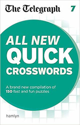 The Telegraph: All New Quick Crosswords 7 (The Telegraph Puzzle Books), New, THE