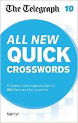 The Telegraph: All New Quick Crosswords 10 (The Telegraph Puzzle Books), New, TH