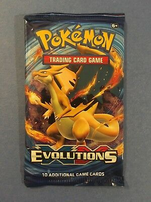 (=o=) Pokémon XY Evolutions Booster Pack Sealed ~ 1 Pack