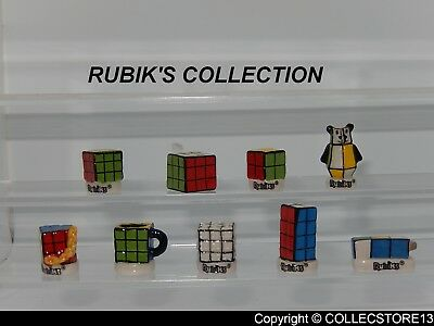 Serie Complete De Feves Rubik's Collection