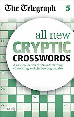 The Telegraph All New Cryptic Crosswords 5 (The Telegraph Puzzle Books), New, TH