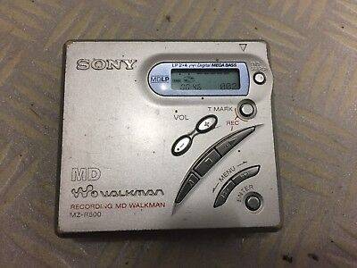 Sony Minidisc MD Walkman MZ-R500  Recorder Player