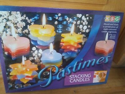 Pastimes Stacking Candles Set BNIB