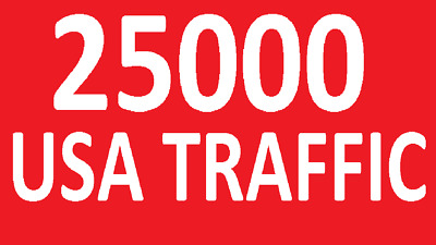 25000 Targeted Website Traffic ( Only USA WEBSITE TRAFFIC ) - Best Web Traffic