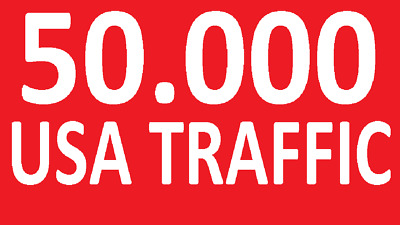 50000 Targeted Website Traffic ( Only USA WEBSITE TRAFFIC ) - Best Web Traffic