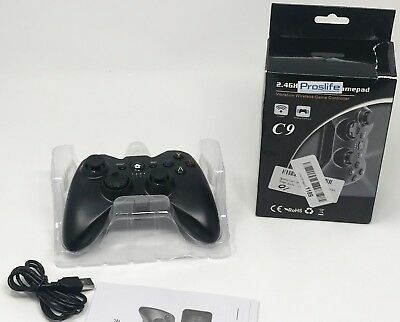 New 2.4GHz White Wireless Remote Controller Gamepad for Xbox One Console NIB