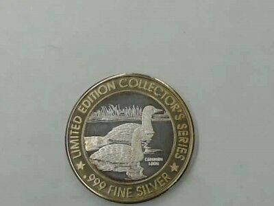 Limited Edition Collector's Series Casino Windsor .999 Fine Silver Coins