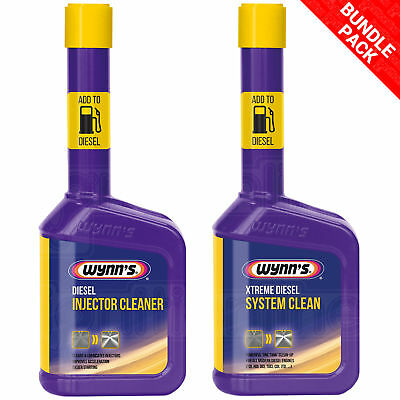 Wynns Diesel Injector Cleaner Engine Fuel & Extreme Powerful Additive System EGR