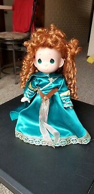 "Disney Princess Precious Moments 14"" Merida Vinyl Doll"