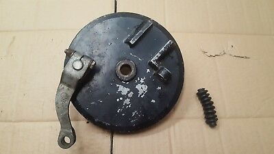 1974 1975 CAN AM TNT 125 MX front brake plate arm spindle BOMBARDIER 743-029-000