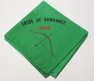 D21 Boy Scout Camp Tribe of Ahwahnee Neckerchief, North Orange County California
