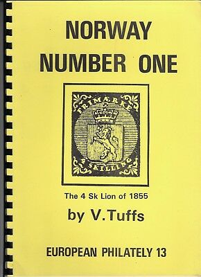 """""""Norway Number One, The 4 Sk Lion of 1855"""" by V. Tufts (European Philately #13)"""