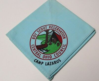 D23 BSA Neckerchief, Camp Lazarus, Central Ohio  Council OH