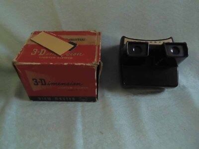 View Master Rarität Model F 3-Dimension Lighted Viewer mit Karton  #9#