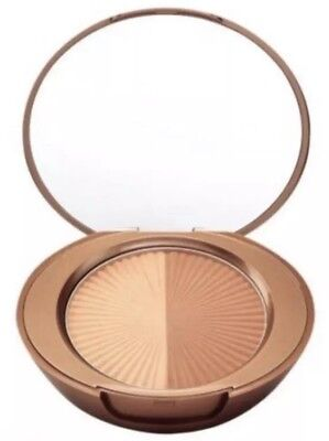 2 X Boots No7 Perfectly Bronzed Dual Bronzer Mirrored Compact  Hypo allergenic