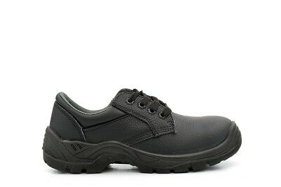 Womens/Mens Safety Shoes Ladies Safety Shoes Steal Toe Caps Leather Sizes 3-14