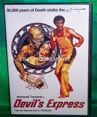 New Rare Oop Code Red Warhawk Tanzania In Devil's Express Horror Movie Dvd 1976