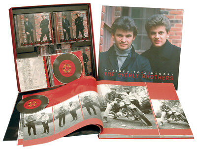 The Everly Brothers - Chained To A Memory (8-CD - 1-DVD) - Rock & Roll