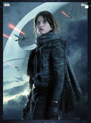 Topps Star Wars Card Trader Rogue One 2018 Posters Jyn Erso