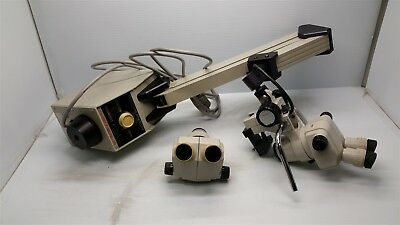 Cabot Medical 3001n Stereoscopic Zoom System with 2 Nikon SMZ-1 Microscope Heads