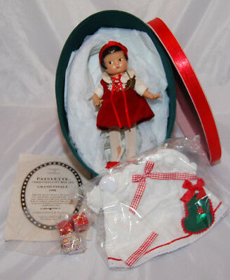 Vintage 1998 EFFANBEE Patsyette CHRISTMAS GIFT BOX SET Grand Finale LIMITED 1600