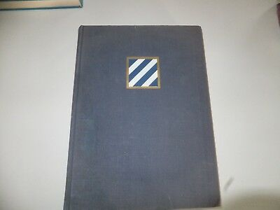 """Wwii """"third Infantry Division Unit History"""" (1St Edition - 1947)"""