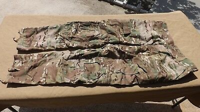 US Army Multicam OCP Combat Pants Fire Resistant Large Long Crye Knee Pads