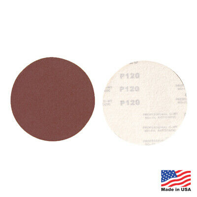 "50 Pack - 60 Grit 6"" Inch Hook and Loop Sanding Discs Orbital DA Sanding Paper"